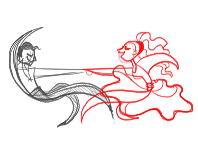 Dance Sketch dance sketch ballroom character design