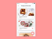 #23 Daily UI challenge - Recipe app