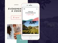 Vins de Provence - Mobile