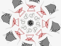 Brand identity / Interior design studio collage