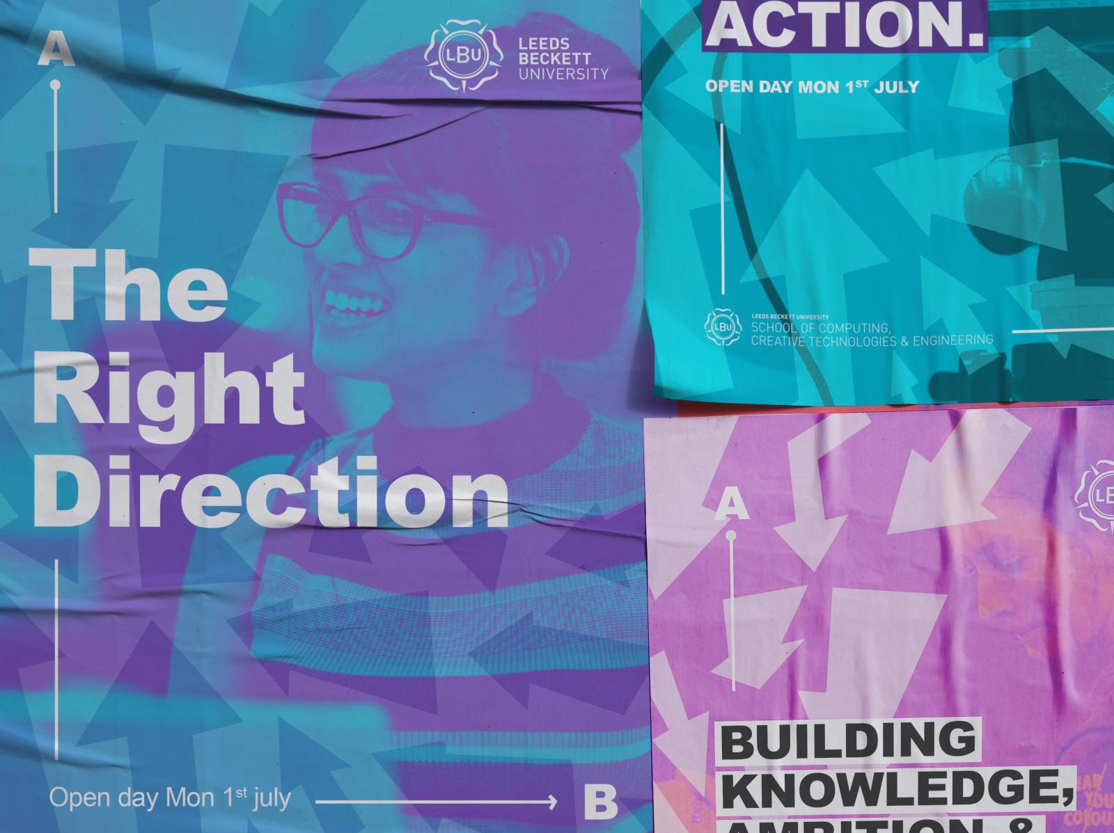 Leeds Beckett Promotional Design - Tender