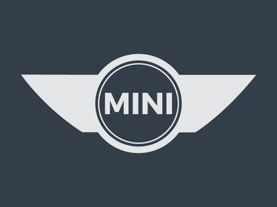 MINI Logo bmw car design minimal flat challenge logo mini
