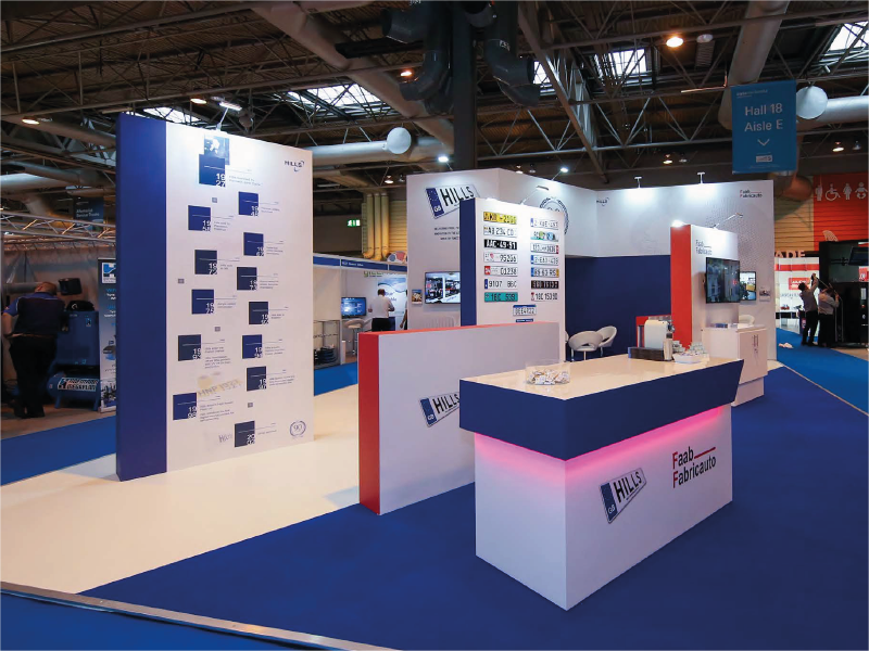 Hills 90th Exhibition Stand
