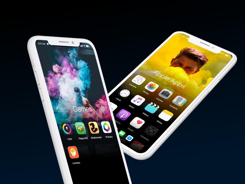 IOS CONCEPT application appstore iphone iphonex