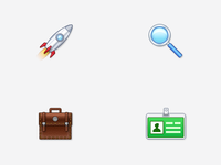 Client Homepage Icons