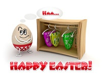Easter Greeting. Happy Easter!