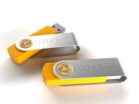 """Logo """"Eco&Tech""""."""
