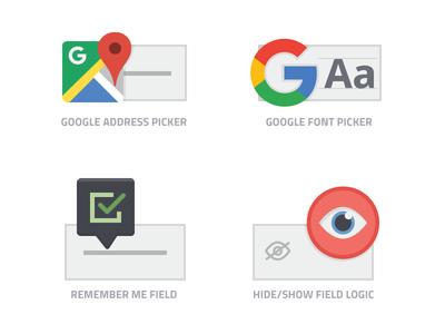 iconize flat: Logiform - Fields logic