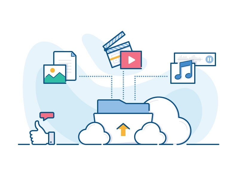 how to explain cloud storage