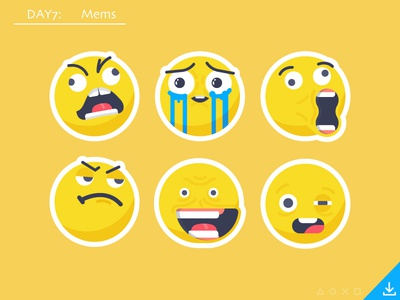 Day7_freebies: Mems mem meme cute fuuu drunk boss lol mems smile smiley face faces