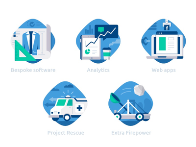 DataBlast category icons :) application web rescue ambulance blueprint project catapult analytics datablast