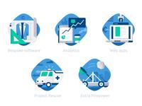 DataBlast category icons :)