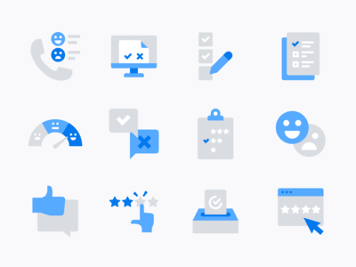 Customer Feedback & Survey icons