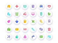 Freebies Expenses -vs- Income icons