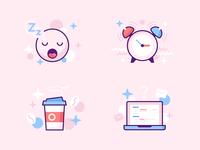 sleep ~ coffee ~ work ~ repeat