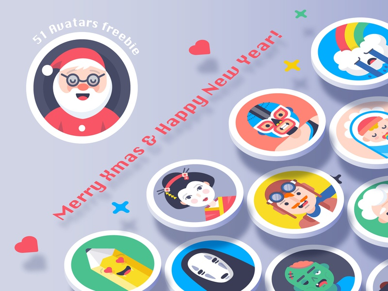 Avatars: Xmas freebies