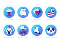 Workout badges
