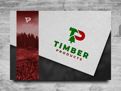 Timber Logo flat clean logos ui building wood product home grapich design vector contractor construction timber illustration wood brand logo