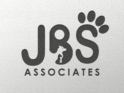 JBS flat minimal design branding logo