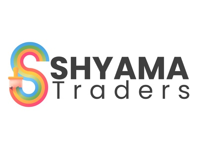 SHYAMA Traders painting graphic design web art design branding vector ui minimal logo flat