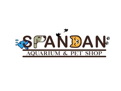 spandan app design minimal icon graphic design logo flat branding animals pet