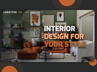 Interior Design art web design ui vector illustration graphic design minimal flat logo design interior design
