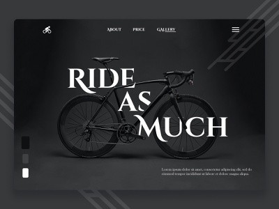 Ride As More website design web design web typography logo design branding graphic design