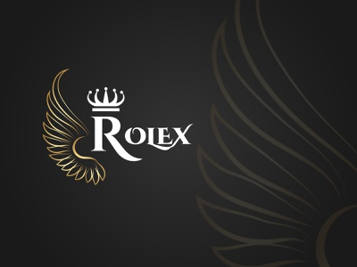 Rolex vector illustrator graphic design illustration icon rolex flat minimal logo branding design