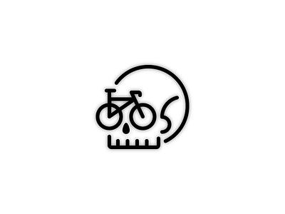 Ride Or Die ride hard commute extreme death bicycle illustration skull die ride or die bike