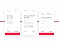 🎟 Checkout process for Ticketstream