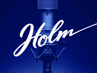 Holm Branding (And First Post on Dribbble!)