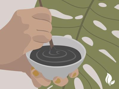 Editorial Illustrations for Eternal Essence Oils
