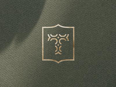 Tabassum - New work at Studio MPLS  letter t monogram gold foil fashion jewelry branding logo identity case study