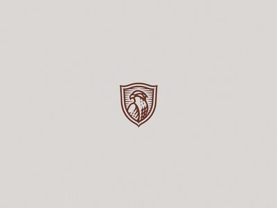 A Tiny Osprey bird osprey graphic brand identity logo design