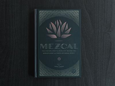 Mezcal Book Cover Design agave flower horse botanical custom type typography dots oaxacan mexican mezcal design book