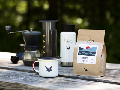 Fika Coffee Packaging
