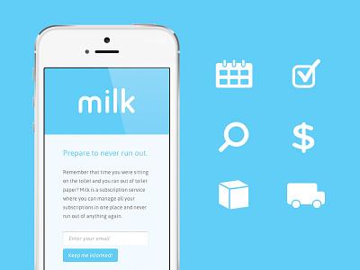 Milk Splash milk splash icons responsive