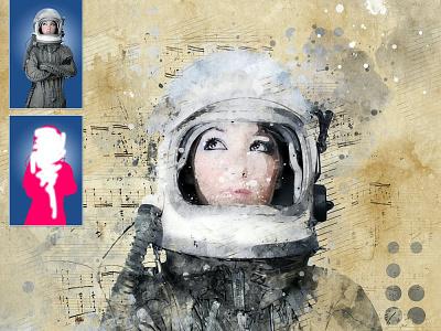 Concept Mix Art Photoshop Action painting concept art concept paint branding motion graphics graphic design 3d animation logo illustration design effect realistic professional digital photomanipulation manipulation action