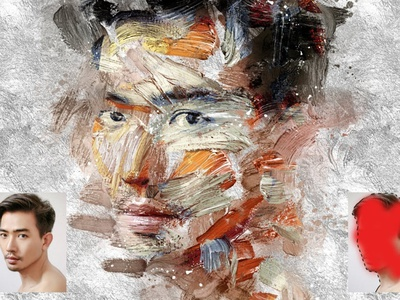 Abstract Paint Photo Effect - Photoshop Action actions photo effects photo effect photo effects photoshop effects photoshop effect photoshop actions photoshop action photoshop logo illustration design effect realistic professional digital photomanipulation manipulation action