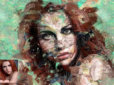 Abstract Paint Photo Effect - Photoshop Action art photo photo effects photo effect photoshop effects photoshop effect photoshop actions actions photoshop action photoshop logo illustration design effect realistic professional digital photomanipulation manipulation action