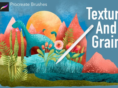 Texture and Grain Procreate Brushes illustration sketching sketch drawing painting paint digital art apps app brushes brush textures grain texture procreate app procreate textures procreate texture procreate brushes procreate brush procreate