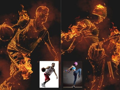 Hell Fire Effect - Photoshop Action hell photography photo effects photo effect photoshop effects photoshop effect photoshop fire effects fire effect fire logo illustration design effect realistic professional digital photomanipulation manipulation action