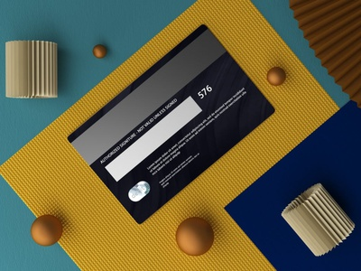 Credit Card Mockups webpage web ux ui presentation theme macbook mac laptop display simple clean realistic phone mockup smartphone device mockup abstract phone credit card