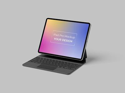 iPad Pro Mockup website webpage web ux ui presentation theme macbook mac laptop display simple clean realistic phone mockup smartphone device mockup abstract phone