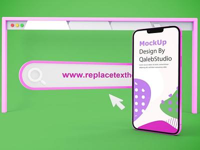 iPhone 13 Website Mockups ux ui presentation macbook mac laptop display simple clean realistic phone mockup smartphone device mockup abstract phone website iphone 13 pro iphone 13 iphone