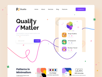 Create Own Design Quality website graphic design color brand identity advertising designplate landing page quality saas colour design