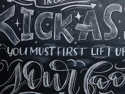 Chalkboard Lettering hand lettering chalkboard art chalk lettering chalk art chalklettering chalkart