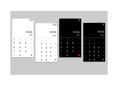 Daily UI :: 004   Challenge #4   Calculator design ux ui scientific calculator calculator dailyui challenge login dailyui