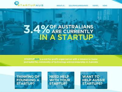 StartupAus draft homepage startup australia nfp