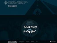 Church Vision mini-site